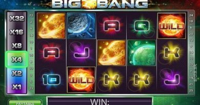 Big Bang video slot