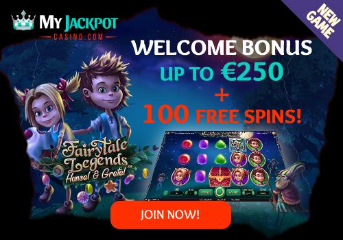 MyJackpot Casino nieuwe bonus