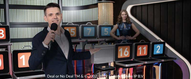 Live Deal or no Deal Live Casino Game Shows