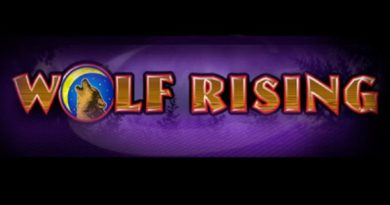 Wolf Rising video slot